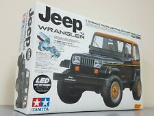 New Tamiya 1/10 R/C Jeep Wrangler CC-01 Chassis TEU-101BK + TLU01 LED Light Unit