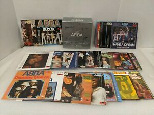 25th Anniversary Singles Collection by ABBA (CD, Nov-1999, 27 Discs,...