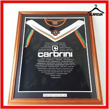 Dundee United Football Shirt Carbrini Centenary 1909-2009 Signed Framed Jersey