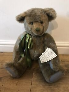 Deans Rag book bear 'Oswald' 8 Of 50. Collectors Limited edition Rare. 24 Inch.