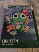 SGT FROG Vol 18 by Mine Yoshizaki TokyoPop Manga Graphic Novel Book English