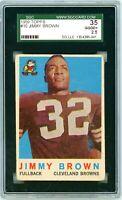 1959 Topps Jimmy Brown #10 SGC 35 P880