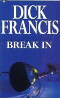 Very Good, Break In, Francis, Dick, Paperback