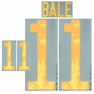 Authentic Wales Bale - Flock adidas Home Trikot EM 2020/2021-WM 2022