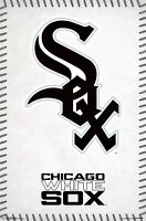 CHICAGO WHITE SOX - LOGO POSTER 22x34 - MLB BASEBALL 15723