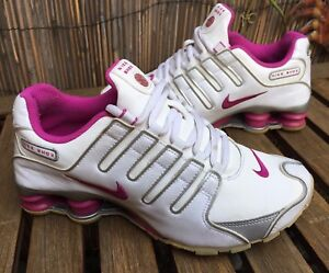 Women's Girl's Nike Shox NZ Patent Leather shoes US 4 Y UK 3.5 EUR 36