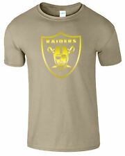 Oakland Raiders American Football Mens Womens And Kids T-shirt NFL Top T Shirt