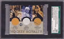 2002/03 Lemieux, Lindros, Thornton Hockey Royalty Limited /25 BV $150