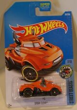 Hot Wheels 2016 Street Beasts ERROR Black Front Wheel STEER CLEAR