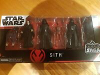 Star Wars Celebrate The Saga Hasbro SITH 5 figure pack RARE find