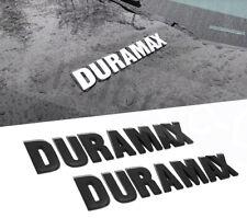 Matte Black Duramax Front Hood Emblem Nameplate fit 2019-2021 Silverado OEM