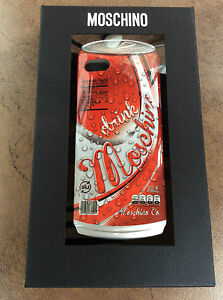 MOSCHINO SODA POP APPLE iPHONE 5/5s MOULDED FITTED CASE RETAIL BNIB