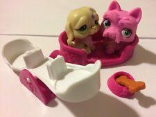 Lps #7 Littlest Pet Shop Lot 8 Piece Dogs Accessories