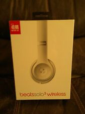 Beats by Dr. Dre Solo3 Wireless Ear-Pad Headphones - Satin Silver (Brand New)