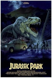 JURASSIC PARK Stan and Vince Mondo Poster Print Limited XX/375 RARE Awesome
