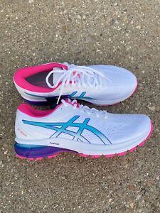 ASICS GT 2000 8 Women's Size 11 Running Shoe White/lagoon