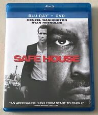 Safe House (Blu-ray Disc, 2012, 2-Disc Set, UltraViolet) LIKE NEW, FREE SHIPPING