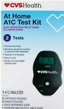 CVS PHARMACY A1C Self Check Home A1C System 2 Test Kit Diabetic Jan 2020 READ