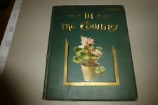 Rare kids book In the Country by E Heatly color illustrations Birds/eggs/letters