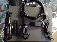 TEKTRO 930AL LINEAR-V BRAKE BMX BLACK BICYCLE BRAKE SET