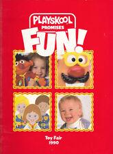 Playskool Toy Fair 1990 Preschool Construction Sesame Street Weebles Cycles