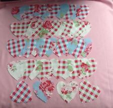 Cath Kidston Fabric Material 100 Hearts Quilting Patchwork Sewing Shabby Chic