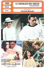 LE CHEVALIER DES SABLES - Taylor,Burton,Minnelli(Fiche Cinéma)1965 The Sandpiper