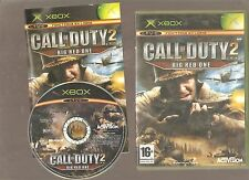 Rarissime !!! CALL OF DUTY BIG RED ONE : Mythique sur XBOX