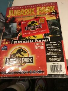 Jurassic Park Limited Edition Collector's Pack Sealed Souvenir Magazine & Comic