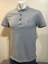 ALLSAINTS REFORM POLO SHIRT SIZE MEDIUM VGC