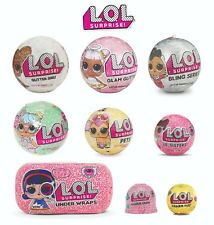 NEW LOL Surprise Glitter Under Wraps Glam Lil Sisters Series L.O.L. Bling Ball