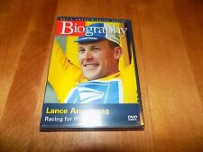 LANCE ARMSTRONG Racing For Life BIOGRAPHY A&E TV Series Biking Race DVD NEW
