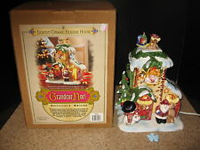 Grandeur  Noel Lighted Ceramic Holiday House Collector's Edition Lighted V GUC