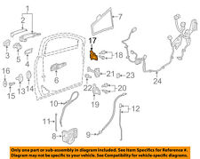GM OEM-Door Hinge-Lower 13583618