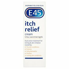 E45 Itch Relief Cream 100g for Itching & Skin Irritation