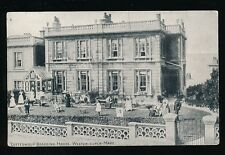 Somerset WESTON-SUPER-MARE Cotteswold Boarding House Advert guests c1900s? PPC