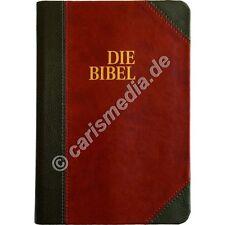 DIE BIBEL: SCHLACHTER 2000 - flexibler Einband Duotone, Goldschnitt, Taschenbuch