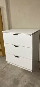 Commercial Filing Cabinet 3 drawers large and solid