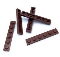 Lego 20 New Reddish Brown Windows 1 x 2 x 2 Flat Front Pieces