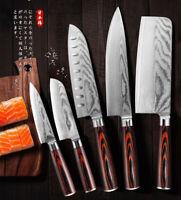 Couteau de chef Damas 8 pouces Couteau de cuisine Kiritsuke VG10 67 couches