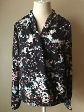W118 by Walter Baker Womens Multicolor Blouse Long Sleeve Large