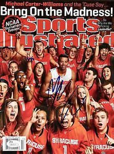 Michael Carter Williams Signed (March 25th 2013) Sports Illustrated Magazine JSA