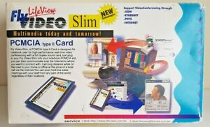 Lifeview Flyvideo Slim PCMCIA Type 2 Card, Real-time Video Multimedia