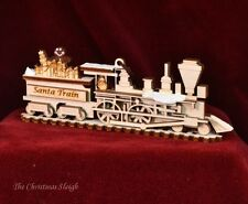 Ginger Cottages Wooden Ornament - Middleburg, VA - Santa Train - Made in the USA