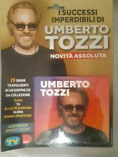 2 DOPPIO CD I SUCCESSI IMPERDIBILI DI UMBERTO TOZZI TV SORRISI E CANZONI