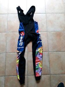 Cuissard long pantalon cyclisme MAPEI 1995Taille L