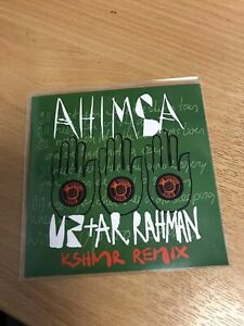 U2 & AR RAHMAN - AHIMSA 'KSHMR' REMIX - BRAND NEW OFFICAL BRAZILIAN  PROMO CD