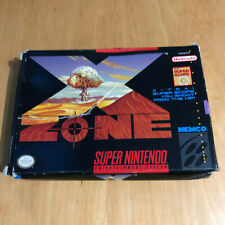 SNES Super Nintendo Game BOX ONLY NTSC : X Zone