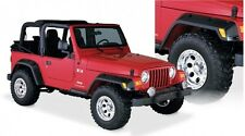 "BUSHWACKER 4.75"" POCKET STYLE FENDER FLARES 97-06 JEEP WRANGLER TJ&LJ (SET OF 4)"