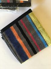 New Mackenzie Childs Covent Garden Washcloth Stripes